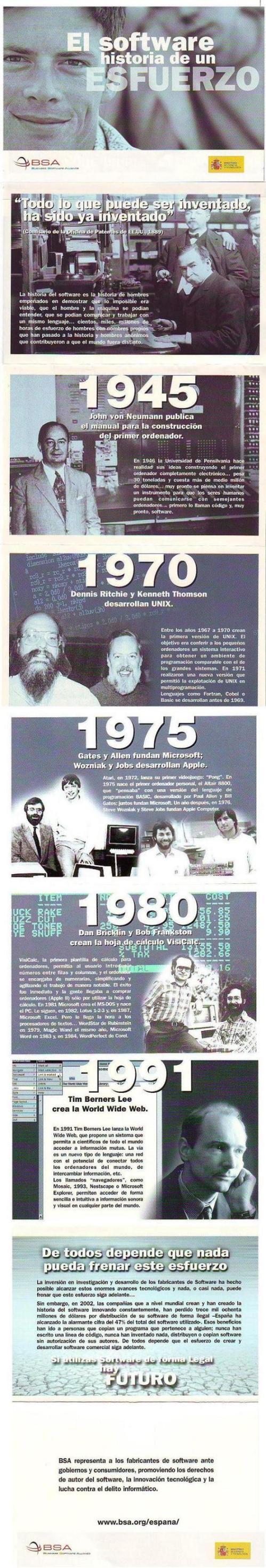 Historia delsoftware