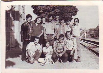 Anzánigo Estación, Huesca. Verano, 1974