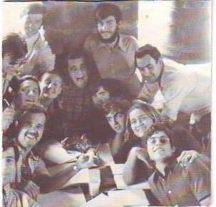 Una tarde en la torre de la Iglesia de Anzánigo. Verano, 1974