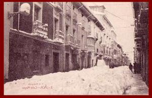 La Calle Mayor de Jaca. F. Heras