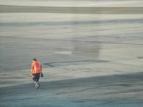 Aparcador de aviones