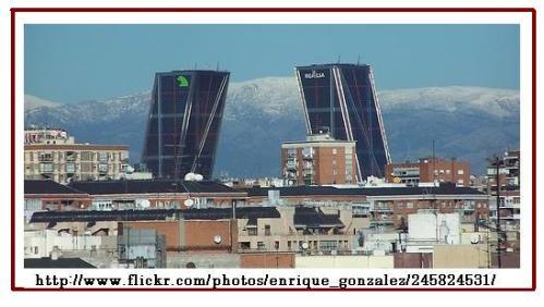 Torres Kio y Sierra de Madrid