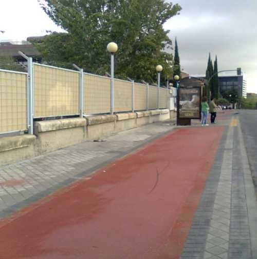 Nuevo carril bici en Madrid
