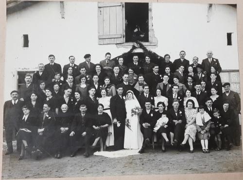 fotografia antigua fiesta boda 1